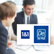 Start Smart mit 1&1 De-Mail Business