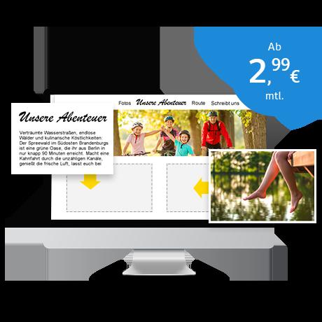 Homepage erstellen zum Thema Sommer