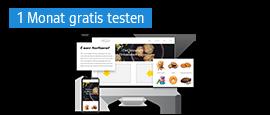 Eigene Homepage mit dem Homepage-Baukasten