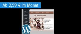 WEB.DE Hosting mit WordPress-Kompatibilität