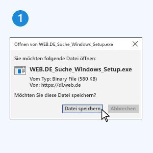 Schritt 1: Datei speichern