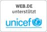 WEB.DE unterstützt UNICEF