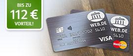 WEB.DE Kreditkarten