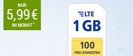 All-Net LTE 1 GB