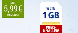 All-Net LTE 1 GB
