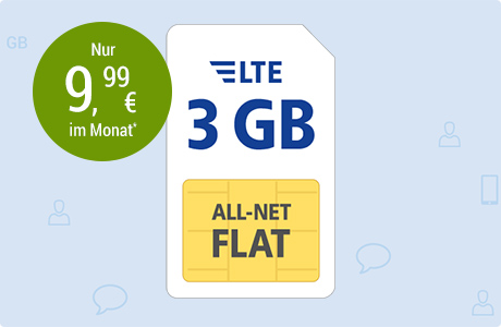 All-Net Flat LTE 3 GB