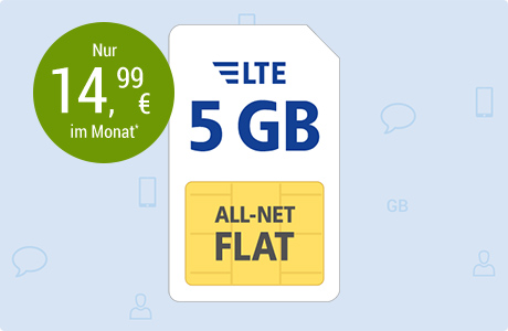 All-Net Flat LTE 5 GB