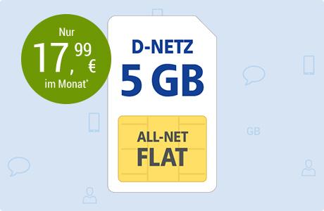 All-Net Flat 5 GB