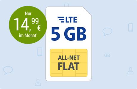 All-Net Flat LTE 5 GB