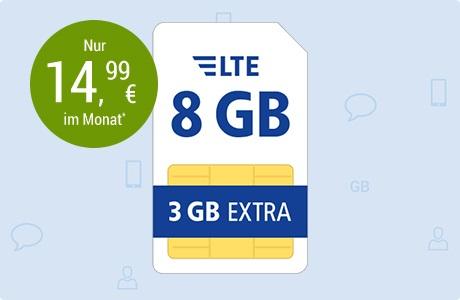 All-Net Flat LTE 8 GB