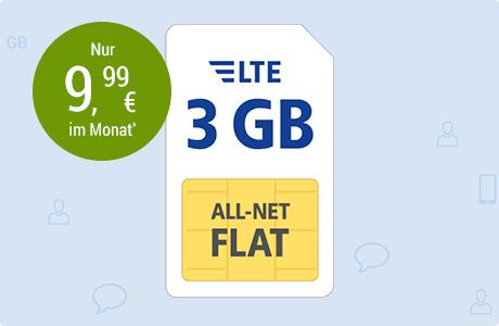 All-Net Flat LTE 3 GB