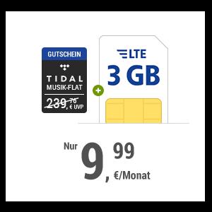 3 GB + Musik-Flat