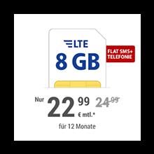 8 GB LTE Handytarif
