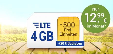 All-Net & Surf LTE 4 GB
