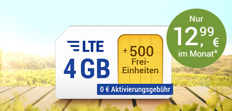 All-Net & Surf LTE 4 GB