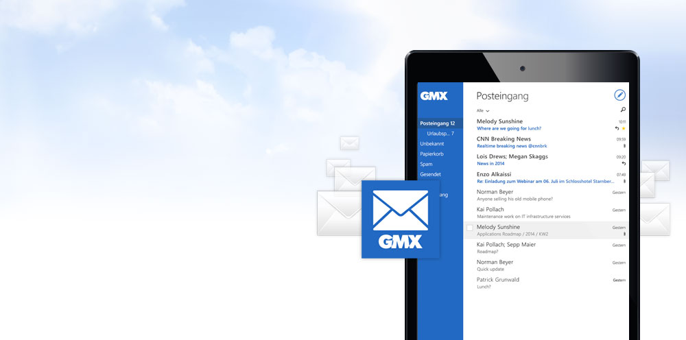 GMX Mail App für Windows