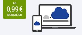 GMX Cloud: der sichere Speicher für Ihre Daten