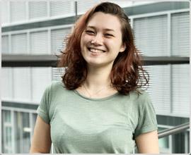 Isabel, unser Neuzugang im Blog-Team.