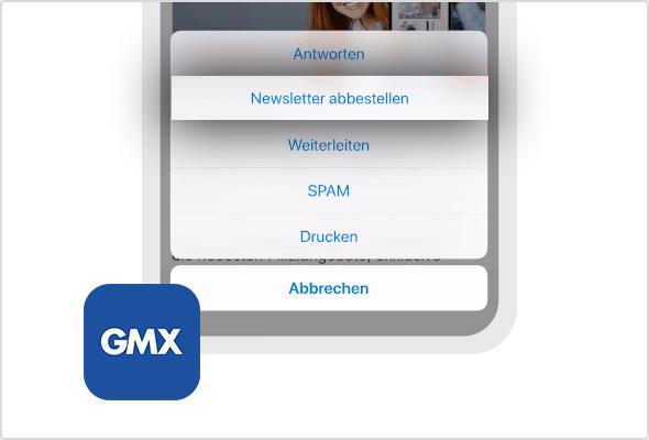Newsletter bequem abbestellen –  auch in der iOS App möglich