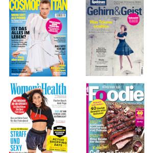 Cosmopolitan, Kochzeitschriften