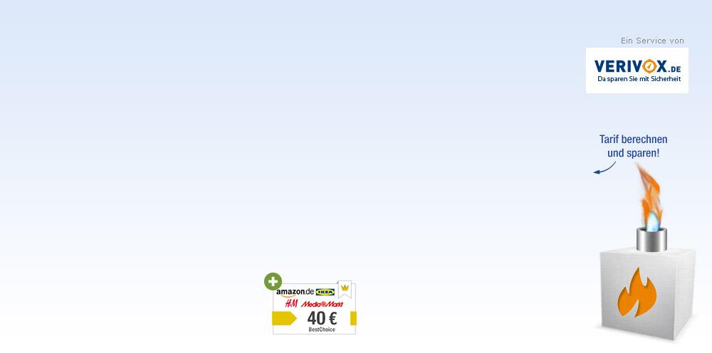 Kostenloser Gaspreisvergleich mit Verivox TÜV-geprüftes ...