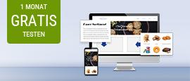 GMX Homepage-Baukasten