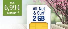 All-Net & Surf 2 GB