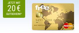 free Mastercard Gold + 20 € BestChoice Gutschein