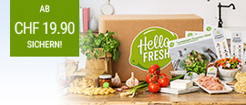 Kochbox von HelloFresh