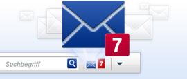 Neue E-Mails? - Immer informiert mit MailCheck!