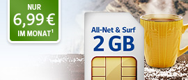 All-Net & Surf 2 GB