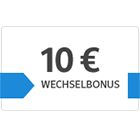 10 € Wechselbonus