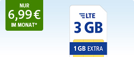 All-Net LTE 3 GB