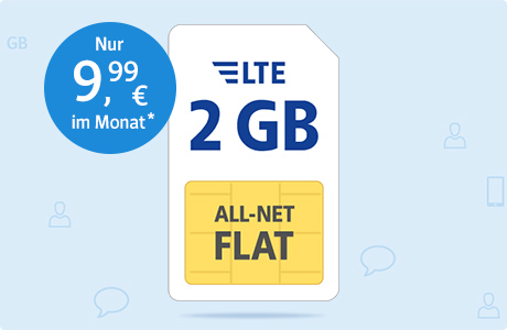 All-Net Flat LTE 2 GB