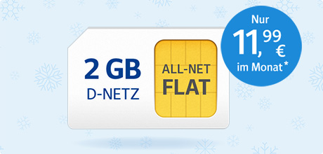All-Net Flat 2 GB