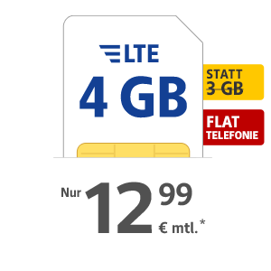 4 GB LTE Internet