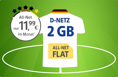 All-Net Flat 2 GB