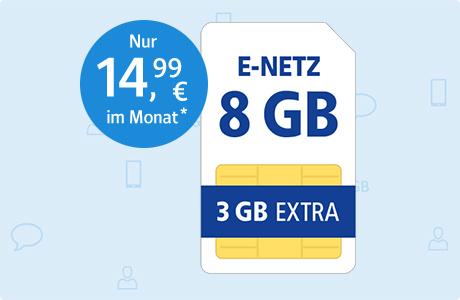 All-Net Flat 8 GB