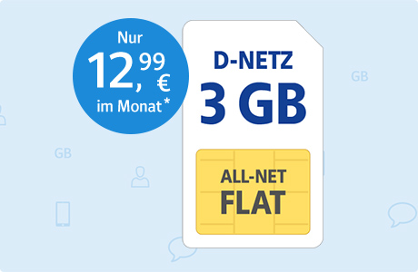 All-Net Flat 3 GB