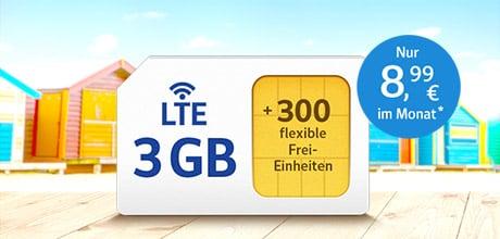 All-Net & Surf LTE 3 GB
