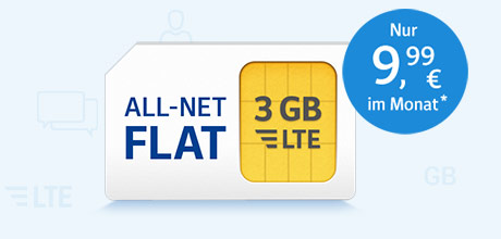 All-Net Flat LTE 3.000