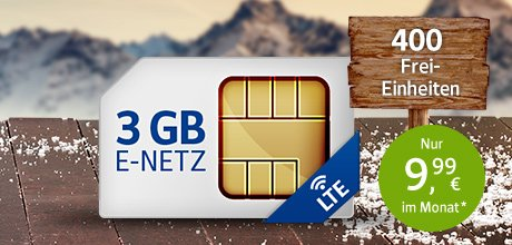 All-Net & Surf 3 GB