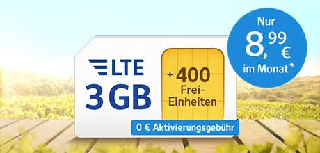 All-Net & Surf LTE 3 GB