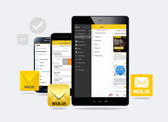 web de app logout