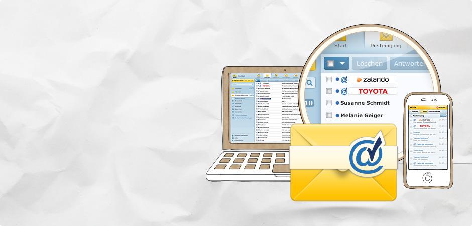 Freemail posteingang