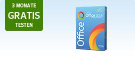 Office-Paket 3 Monate gratis