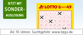 Lotto + Sonderauslosung