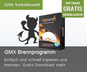 GMX Brennprogramm