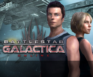 Battle Star Galactica Action Spiel