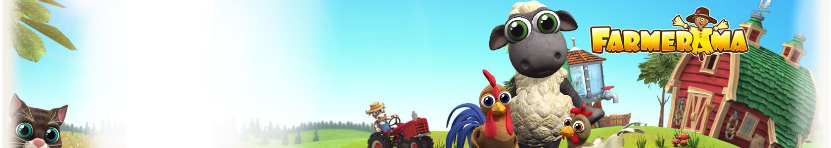 Farmerama, die bekannte Farm Simulation